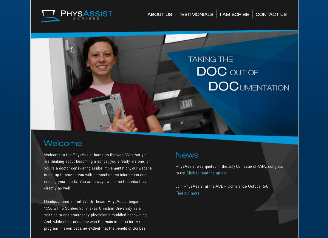 screen phys assist home